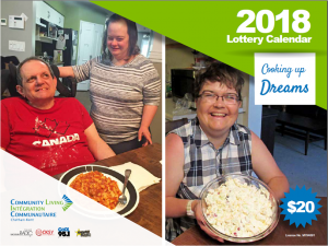 Lottery Calendar Front Page