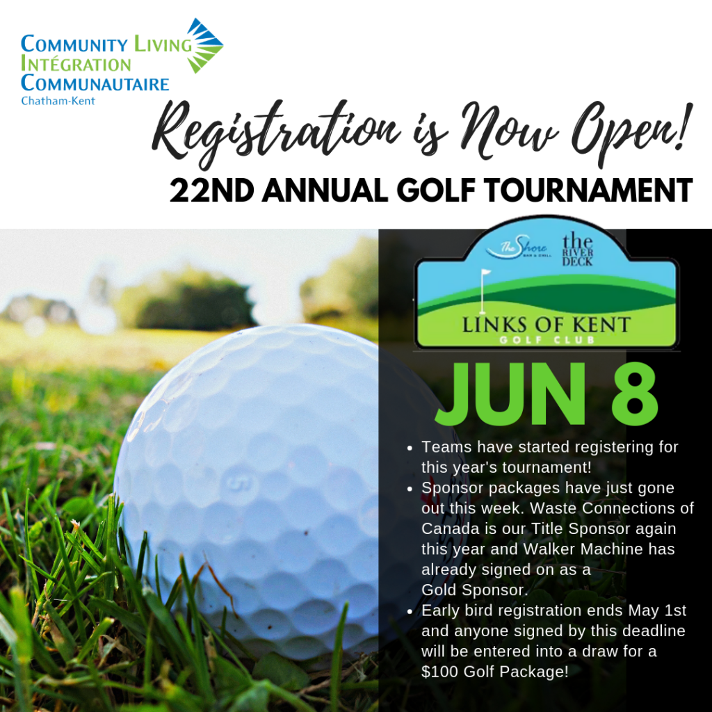 Save the Date - Golf