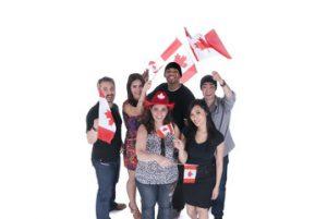 Celebrate Canada Bus