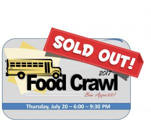 2017 Food Crawl – SOLD OUT