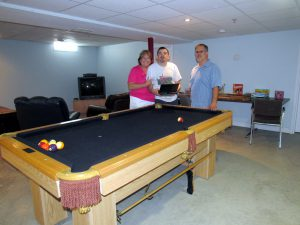 Pool Table Donated to Community Living Chatham-Kent