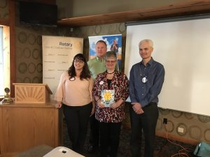 Rotary Club of Chatham Sunrise Presentation