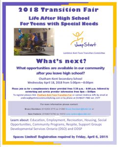 Teen Transition Fair