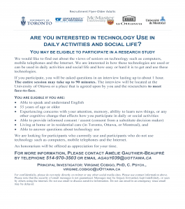 Interested in Techonology Use in Daily Activities & Social Life?