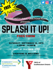 Splash It Up! Free Swim