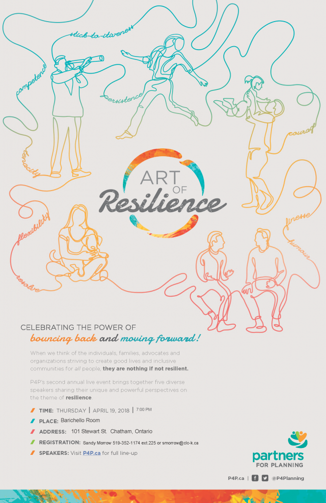 Art of Resilience Poster (April 2018)