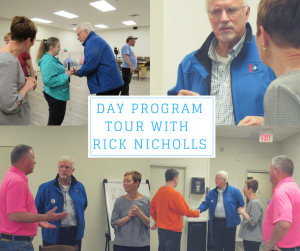 Day program tour with rick nicholls