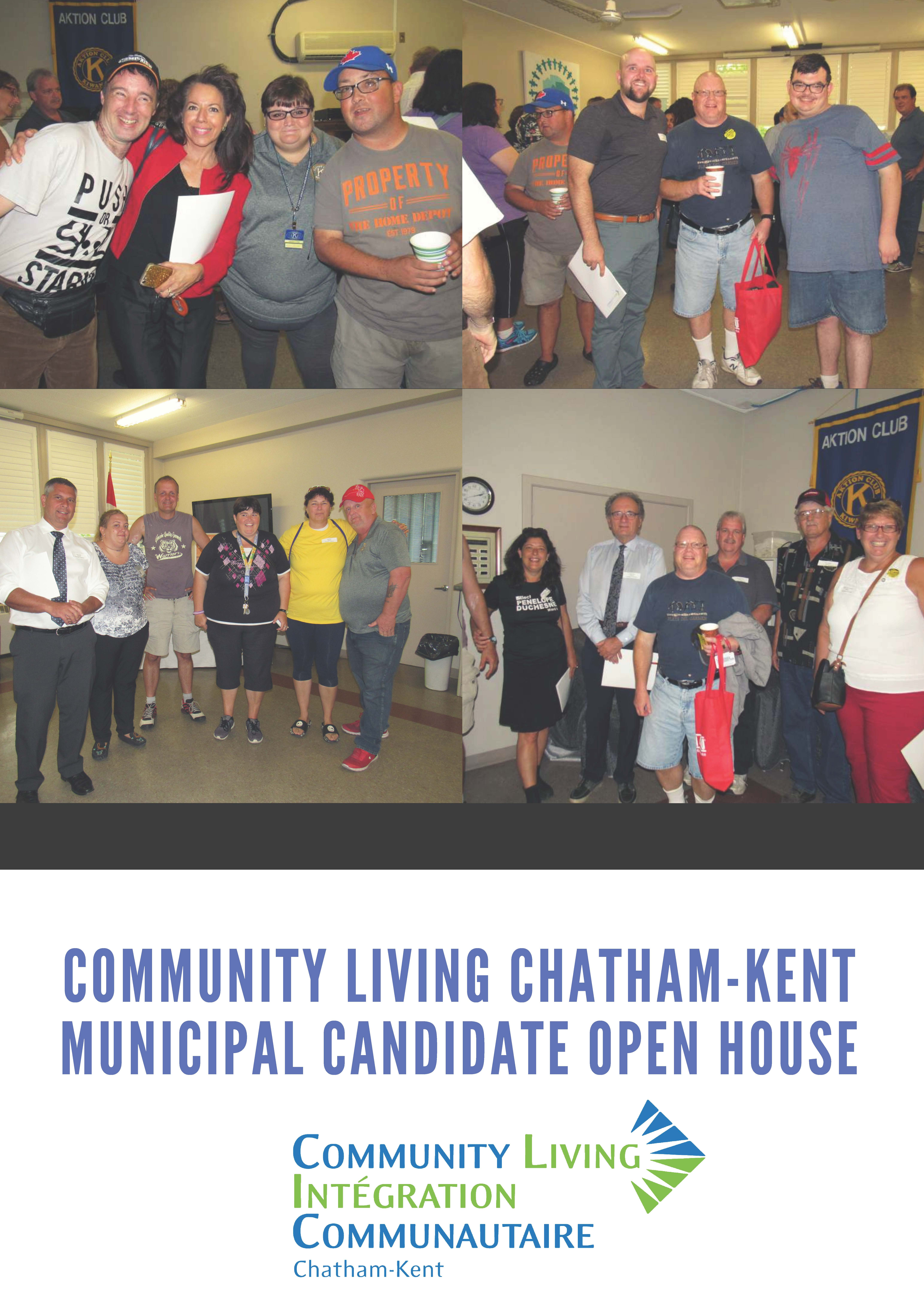 Municipal Candidate Open House