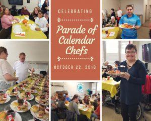 Parade of Calendar Chefs