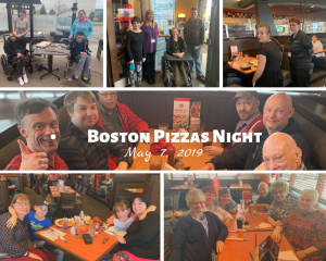 Boston Pizzas Night