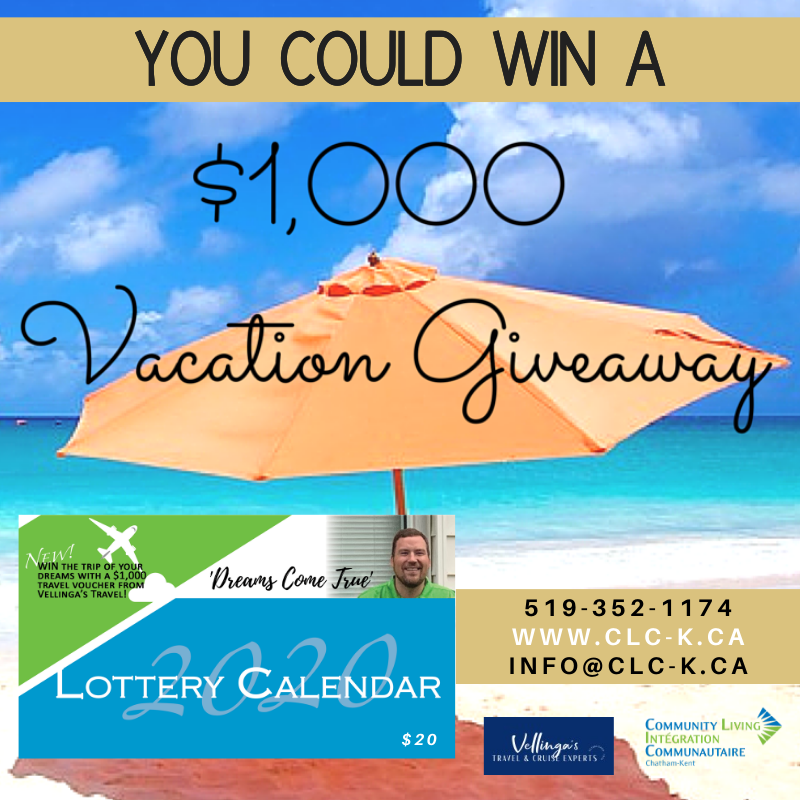 Win a $1,000 Travel Voucher