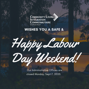 Administrative Offices are Closed for the Labour Day Holiday